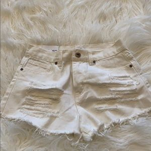 Brand new with tags, Jean shorts
